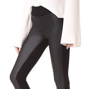 Club Monaco faux-leather leggings
